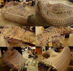Matthias Pliessnig matthias pliessnig steam bends strips of wood into stunning
