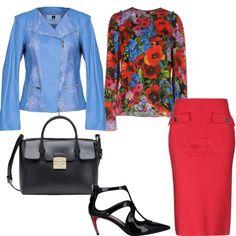 mi vesto bene con molto di più  outfit donna Bon Ton per ufficio  2165d041c00