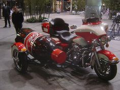 Coca Cola Motorcycle. Coca-Cola originated in Mississippi. For the coke addicts...this should do the trick!