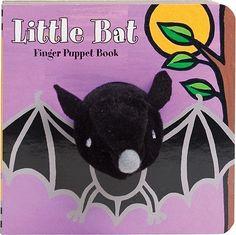Little Bat Finger Puppet Book   $7.95