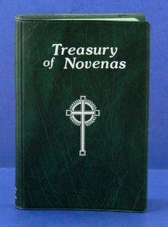 Treasury of Novenas 1986 Catholic Prayer by QueeniesCollectibles, $14.99