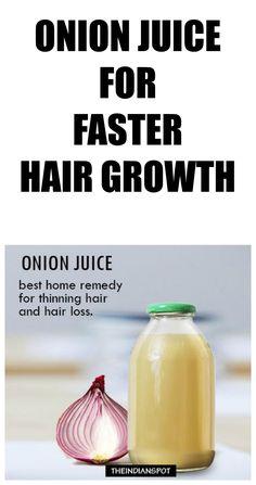 Onion Juice For Hair Growth And Eyebrow