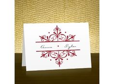 Snowflake Note Card and Envelope