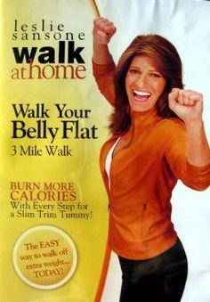 DVD Review: Leslie Sansone's 'Walk Your Belly Flat' via @SparkPeople