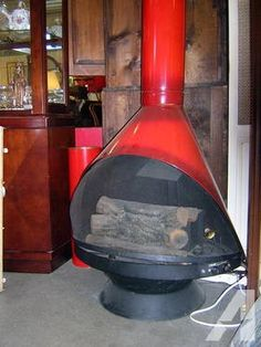 Vintage Cone Fireplace My Craigslist Finds