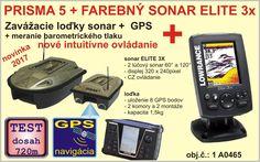 OD 10. MARCA ZNOVU NA SKLADE: Akciový , výhodný set kde získate sonar Elite 3X k zavážacej loďke v akciovej cene. Zavážacia loďka novej generácie kombinácia loďka so sonarom a GPS, loďka vhodná pre kaprárov, lovcov na dravcov vyvážanie rybiek,... Pri testoch dosah nad 700m!