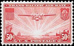 1941 airmail stamp C22