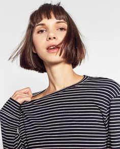 Image 3 of LONG SLEEVED TOP from Zara