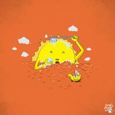 Sun Bathing :)
