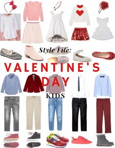 Sunday Styles: Valentine's Day Looks For Kids Tween Fashion, Fashion 101, Fashion Beauty, Fashion Outfits, Latest Fashion, Teenage Girl Outfits, Kids Outfits, Fashion Showroom, Handmade Dresses