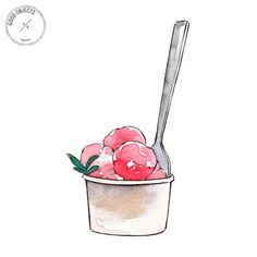 Good objects - Keep the summer alive #goodsummer #watercolor #illustration #goodobjects
