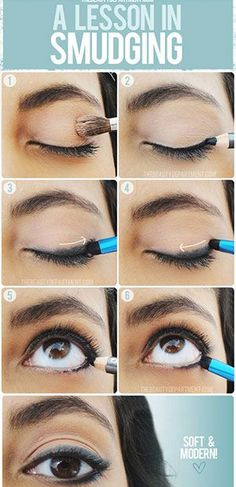 While liquid eyeliner is great and all, LBR here for a second; ain't nobody got time for that every day! If you're more comfortable with pencil eyeliner, you're in luck! Having a smudgy, not-so-harsh liner look is just as fabulous!