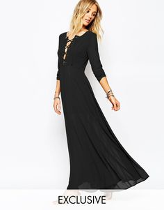Glamorous - Maxi robe avec laçage