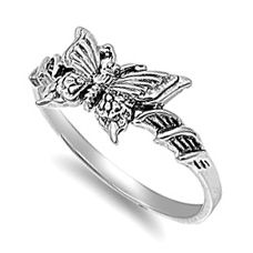 Sterling Silver Butterfly #Ring * $5.75