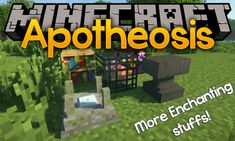 Apotheosis Mod (All Things That Should Have Been) - Minecraft Minecraft Forge, Minecraft Mods, Enchanted Book, Level Up, All Things, How To Remove
