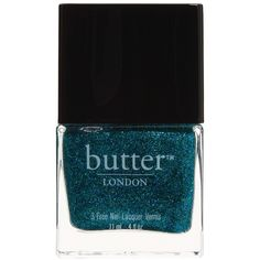 Butter London Shimmer Nail Polish (9.13 AUD) ❤ liked on Polyvore featuring beauty products, nail care, nail polish, nails, makeup, fillers, beauty, green, butter london nail lacquer and butter london nail polish