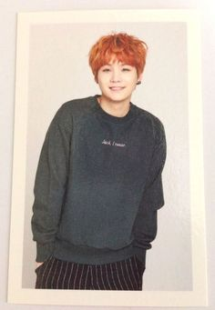 BTS Bangtan Boys Official Fan Club ARMY 2nd Photo Card Suga RARE Photocard KPOP