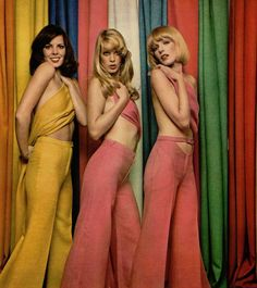 Bare backs and halter tops were extremely popular... so were the gals from Common Valley Heights.