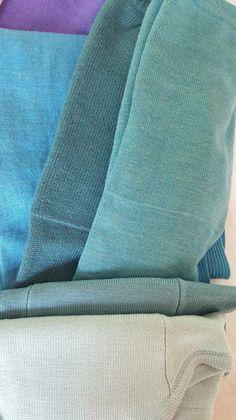 Sloomb light blues comparison: Dream scarf, agave tankers, og mermaid bw, laguna uw, and montauk Blues, Light Blue, Mermaid, Wool, Blanket, Kids, Young Children, Boys, Children