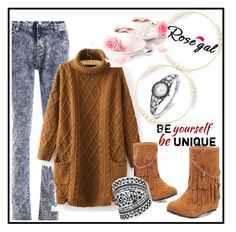 """Rosegal 22"" by aazraa ❤ liked on Polyvore"
