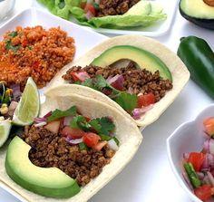 Street Tacos, Spanish Fried Quinoa & Black Bean...   Finding Vegan
