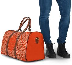 Bandana Styles, Waterproof Fabric, Travel Bags, Shoulder Strap, The Originals, Luxury, Accessories, Collection, Vibrant