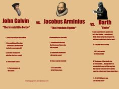 Calvinism, Arminianism, and Vaderism