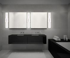 A large led wall sconce from the Savona collection