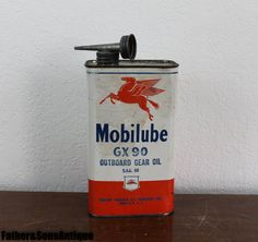 Rarissime gargouille/Pegasus Combo huile peut