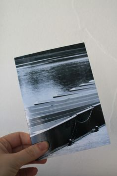 """Carte postale """"les barques"""" en noir et blanc : Cartes par le-petit-bazar-des-trinomettes-en-delire"""