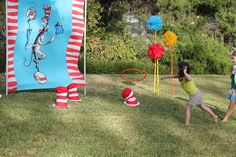 Instead of cat in the hat use a goofy hat for Mickey Mouse clubhouse party