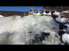 High Falls waterfalls and dam Bancroft Ontario