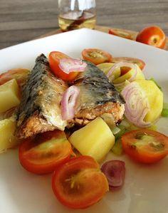 Sweet Kwisine, salade, sardines, poireaux, bataillefood