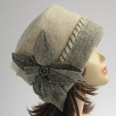 Plus size clothing Gift for mom Gift Beanie Cloche hat Wool hat Gift mom Winter hat Plus size hat Casual hat Gray winter hat Winter warm hat Winter Hats For Women, Women Hats, Hand Sewing Projects, Aviator Hat, Hat Patterns To Sew, Cute Hats, Hat Hairstyles, Plus Size Outfits, Kentucky Derby