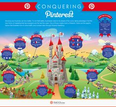 How Do You Conquer The Kingdom Of Pinterest? #infographic