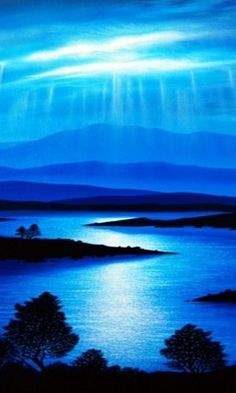 I Like It Natural And Blue...Always In The Country !... http://samissomarspace.wordpress.com