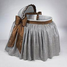 bassinet skirts and hoods | ... Bassinets Tradtional Heirloom French Knots Bassinet BA-21-2010