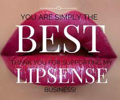 Thank you for supporting my LipSense business! #LipSense #LipBiz
