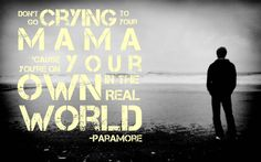 """Lyrics from Paramore's """"Ain't It Fun"""". A reminder to those whiny-asses out there... (Rachel Ivana's original)"""