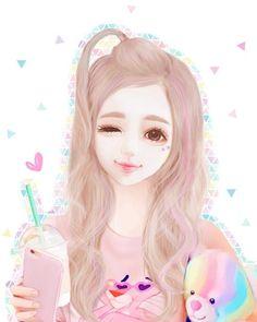 Anime Korea, Korean Anime, Cute Girl Drawing, Cute Drawings, Tumblr Gril, Lovely Girl Image, Latest Anime, Cute Girl Wallpaper, Beautiful Anime Girl