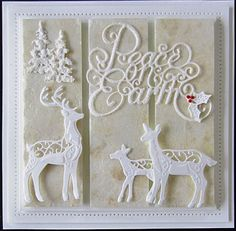 Peace on Earth and Reindeer Family 2015