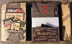 annes papercreations: Mini albums