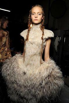 A look at Alexander McQueen's best runway beauty looks