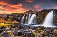 Cómo conseguir retener ese sentimiento de esperanza ilusión... cuando se consigue lo que lo provoca #cascada #waterfall #islandia #iceland #agua #water #amanecer #sunrise #kirkjufellsfoss // Fot.: Daniel Herr