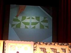 Whirlygig...So awesome! Eleanor Burns Demonstrating Her Techniques at Paducah Quilt Show 2010
