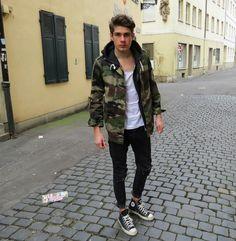 Shop this look on Kaleidoscope (jacket, jeans, sneakers) http://kalei.do/Wj3BirkEB7BM5XFN