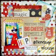 Class: Say Cheese Album with Simple Stories