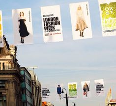 The streets of London ready for Fashion Week