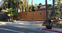 Decorative Custom Wood Gate Plans and custom wood fence gates