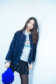 Korean fashion.....im always a fan of the school girl inspired outfits....love them